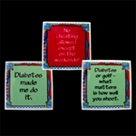 Set of 3 Assorted Magnets for People with Diabetes Set of 3 Assorted, Magnets, for People with, Diabetes, Medical ID
