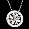 LIFETAG Pewter Motivational Medical ID Necklace LIFETAG, Pewter, Motivational, Medical ID, Necklace