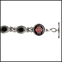 LIFETAG Medical ID Sterling Onyx Bracelet - 341784