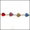 LIFETAG Medical ID Multicolored Glass Bracelet LIFETAG ,Multicolored, Glass, Bracelet, Medical ID