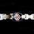 LIFETAG Medical ID Two Tone Gents Bracelet - 343055